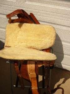 TEXAS SADDLERY BASTROP TEXAS 16 WESTERN HORSE SADDLE