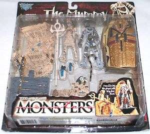 McFarlane Monsters Series 2 The Mummy Playset Action Figure Set