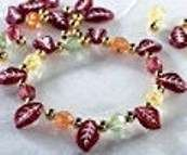Fall Thanksgiving Leaves Charm Bracelet Bead Craft Kit