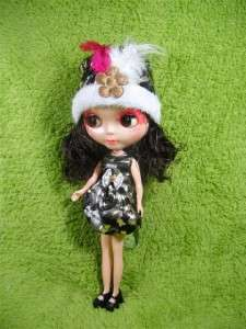 OOAKBig Head Basaak Blybe Blythe clone CCE Doll Completed Custom
