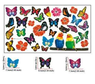 20 Butterfly Art Mural Vinyl Wall Sticker Wall Decal Home Decor