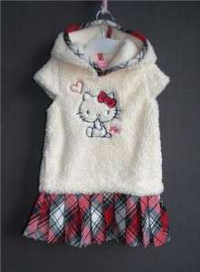 Girls Hello Kitty Dresses For the Fall BRAND NEW For Age 4 5 Free