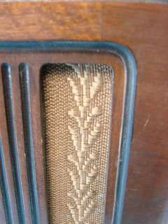 1181 Antique Tube Radio Deco Tabletop 4 Band Eye Tube Eyetube
