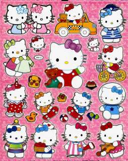 Hello Kitty Sticker ~C069 violin clown astronaut sailor