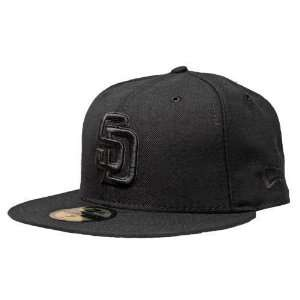 San Diego Padres Black Onyx 59Fifty Fitted Hat Sports