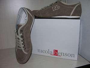 NICOLA BENSON MOD. SNEAKERS 43 UOMO BEIGE STOCK LOTTO P/E 2012
