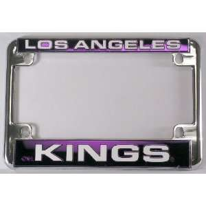 Los Angeles LA Kings NBA Chrome Motorcycle RV License Plate Frame