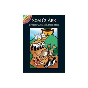 Dover Stained Glass Coloring Book Noahs Ark Arts, Crafts