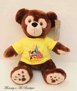 Disney HIDDEN MICKEY MOUSE Plush My First Visit TEDDY BEAR