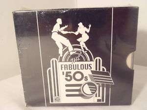 The Fabulous 50s Record 6 CD SET TIME LIFE NEW 827139291129