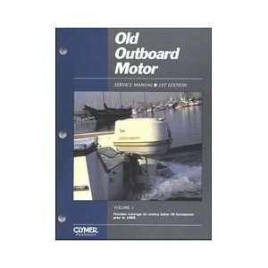 Intertec Old Outboard Motor Service Manual Vol. 1 Under 30