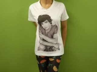 Payne Womens V Neck Crew Neck T Shirt 1D Boy Band Printed Sct