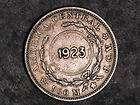 COSTA RICA 1923 1 Colon C/S 1903 50 Centavos Silver VF. X 893