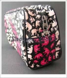 NEW Issa London Cosmetic Bag wild life Elephant makeup case