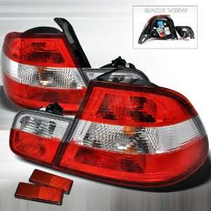Bmw Bmw E46 3Series 2Dr Red Clear Tail Lights Performance