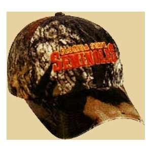 Cap Company Inc Dcollege Logo Camo Cap Fl St: Sports & Outdoors