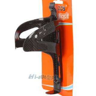 New Carbon Fiber MTB Road Bike Bicycle Cycling Water Bottle Holder
