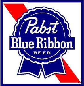 PABST BLUE RIBBON VINYL STICKER (A870)