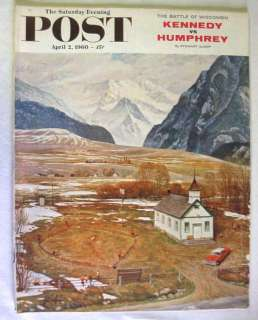 POST Magazine   Norman Rockwell   Joe Cunningham   Kariba Dam