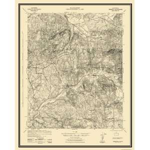 USGS TOPO MAP TEMECULA QUAD CALIFORNIA (CA) 1942 Home