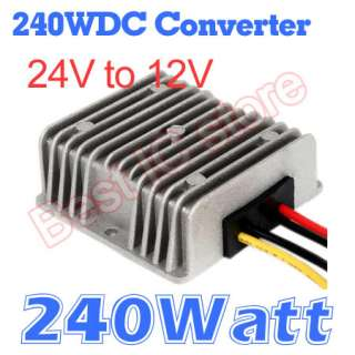 Note you bid on DC DC Converter 24V Step down to 12V 20A   240W
