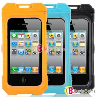 3M Waterproof Skin Protective Box Case Cover for iPhone 4 4S