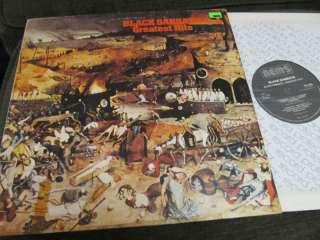 Black Sabbath Greatest Hits 77 LP nel6009 vinyl holland