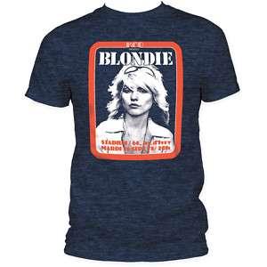 Debbie Deborah Harry Blondie KCP Paris 1980 T shirt top