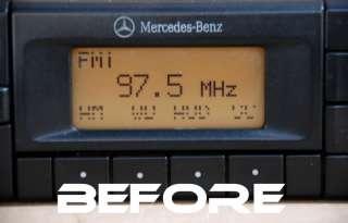 MERCEDES BECKER RADIO STEREO C E S CLASS PIXEL REPAIR