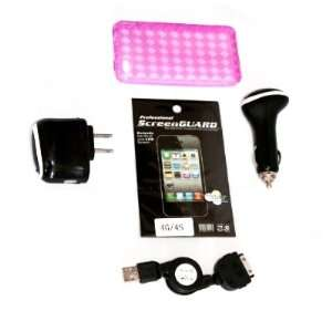 Cell Factory Outlet Brand  High Quality iphone 4/4s Pink