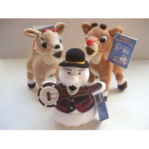 Set of 3 Plush Rudolf and the the Island of Misfit Toys: Toys & Games