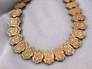 Antique Victorian Gold Filled or RGP BOOKCHAIN Book Link Chain 7