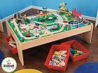 KIDKRAFT WATERFALL MOUNTAIN TRAIN SET & TABLE BRIO & THOMAS COMPATIBLE