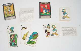 Vintage 1940s Disney Mickey Mouse Library Card Games