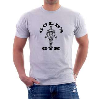 GOLDS GYM BODYBUILDING T SHIRT Lots of Colours D2 MUSCLE WEIGHTLIFTING