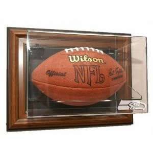 Seattle Seahawks Football Case Up Display   Brown Sports & Outdoors