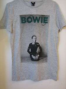 David BOWIE T Shirts NEW with Tag Sizes S , M , L , XL