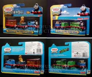 NEW   Thomas Friends & LION of SODOR + HENRY & GOLD MINE 3 Packs TAKE