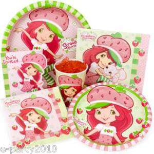 STRAWBERRY SHORTCAKE DOLLS Birthday PARTY Supplies