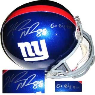 Hakeem Nicks Hand Signed Full Size REP New York Giants Auto Helmet