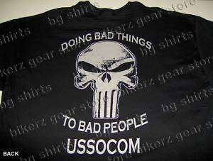 SOCOM Navy Seals Delta Force Spec Op T shirt S XL BLACK