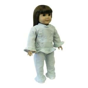 American Girl Doll Clothes Blue Pants Outfit Toys & Games