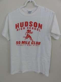 Hudson High School Running t shirt vintage emo indie