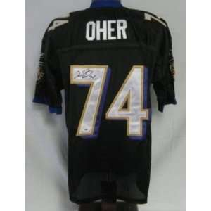 Michael Oher Signed Jersey   PSA DNA   Autographed NFL