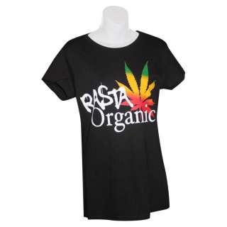 Cooyah Womens Rasta Organic T Shirt Reggae Jamaica CY