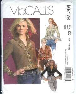 OOP McCalls Sewing Pattern Misses Women Coat Jacket + With Plus Size