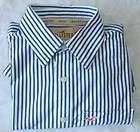 HOLLISTER CALIFORNIA, mens green stripe dress shirt, M
