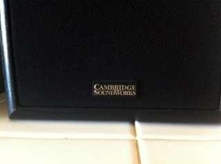 Cambridge Soundworks Model 17 Seventeen Bookshelf Speakers By Henry