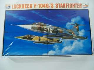 ESCI Lockheed F 104G/S Starfighter 1/48 Scale Model Airplane Kit SC
