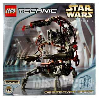 NIB LEGO 8002 Technic Star Wars Ep I Destroyer Droid